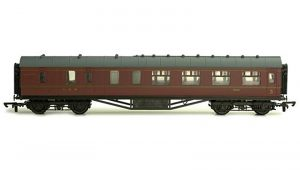 C102D 57FT Stanier Corr Brake LMS Lined, OO Scale.