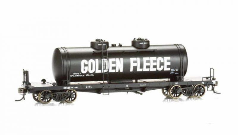 Eureka Models VR Bogie Fuel Oil Tanker 3 Pack Pack No 1 HO Scale
