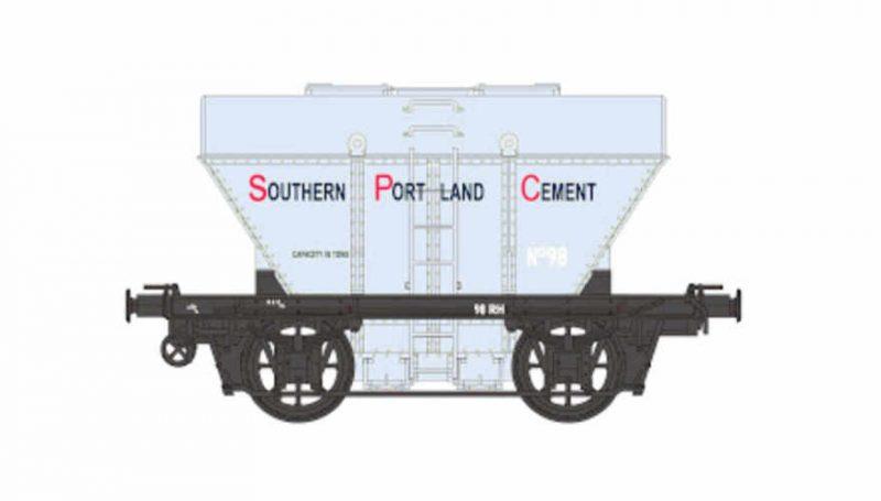 Eureka Models RH Cement Hopper Southern Portland Cement Silver