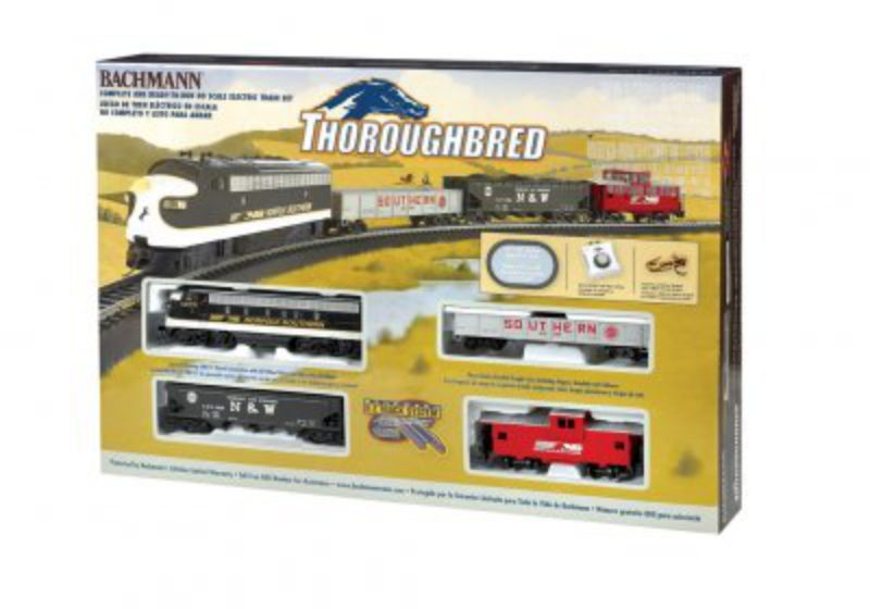 bachmann thoroughbred set