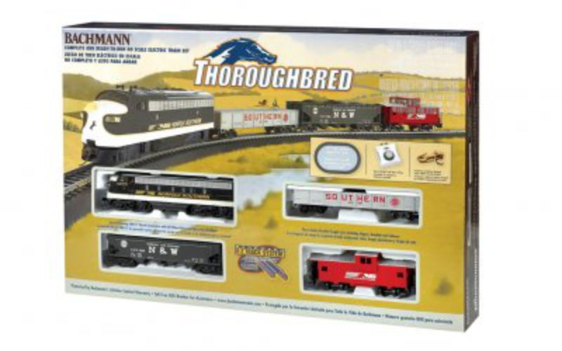 bachmann thoroughbred set