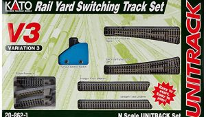 kato V3 rail yard switching track set
