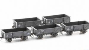 Austrains NEO NSWGR S Truck Disc Wheels / No Buffers Wire Train 5 car pack S033