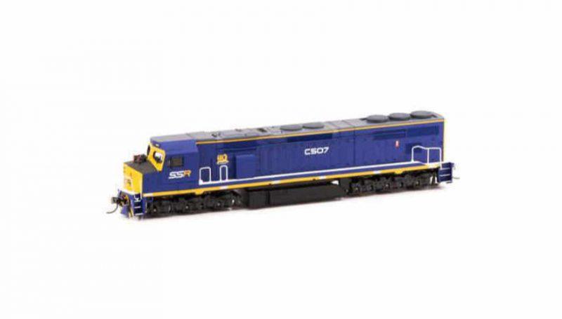 Auspower locomotives C Class SSR C507
