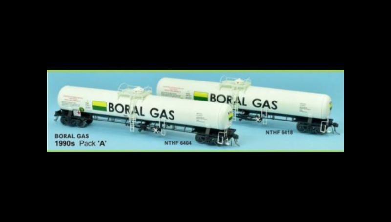 SDS, Gas Rail Tank Car, Boral Gas 1990 B