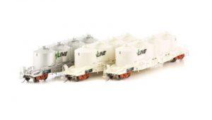 SDS, victorian railways, FX VPFX Bulk Flour Wagon, 3 Pack,