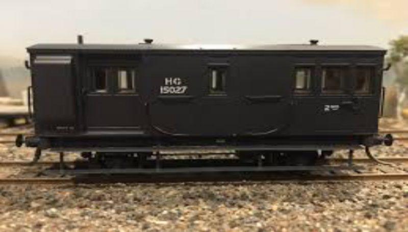 Casula Hobbies, NSWGR HG Goods Brake Van, Pack HG2 HG15027, HO Scale
