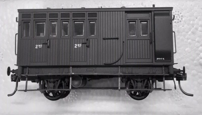 Casula Hobbies, NSWGR HG Goods Brake Van, Version No.9 & 10 Un-No, Two Compartment