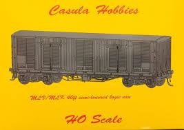 Casula Hobbies, NSWGR, MLV MLK Louvred Van, MLK21145+MLK21179, HO Scale