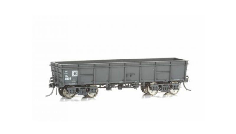 Eureka Models, CG Open Wagon Pack B Gray, 3 Pack, HO Scale