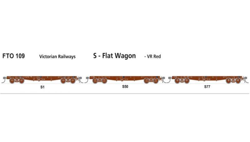 FTO 109 S flat wagon