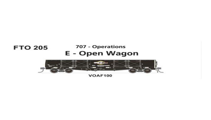 Phoenix, FTO 205 VOAF 9 Steam Rail Victoria, HO Scale
