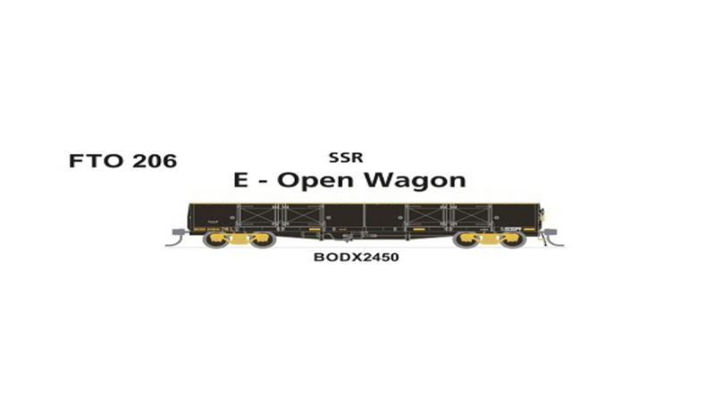 Phoenix, FTO 206 BODX 2450 SSR, HO Scale