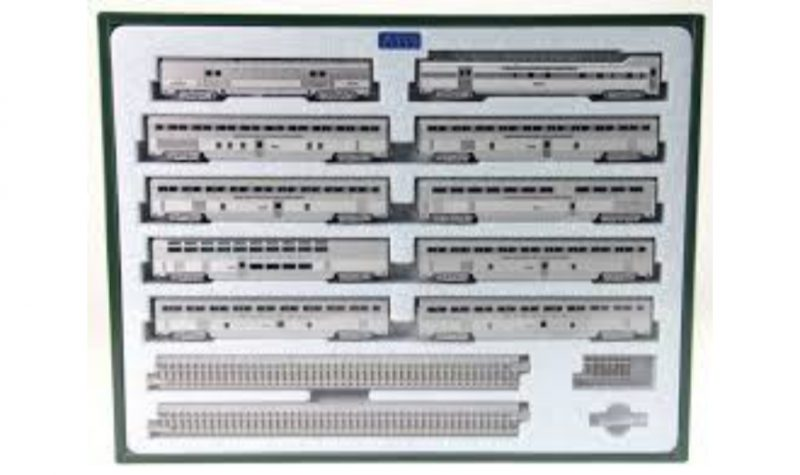 Kato, 106-084, AT & SF El Capitan, 10 Car Set,