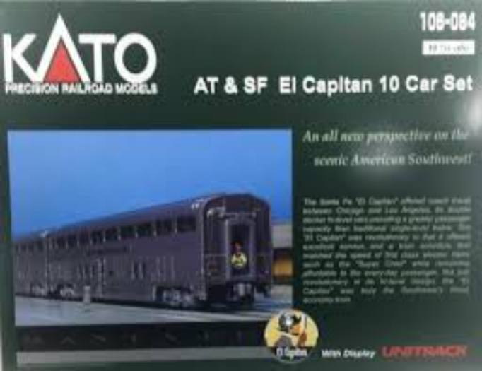 Kato, 106-084, AT & SF El Capitan,