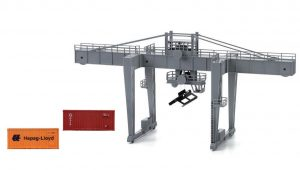 Hornby, HL8000, Lima Expert Container crane. With 2 containers, HO Scale