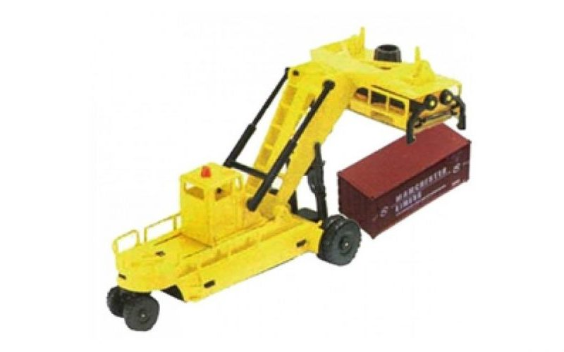 Hornby, HL8001, Lima Junior Container forklift with one container, HO Scale