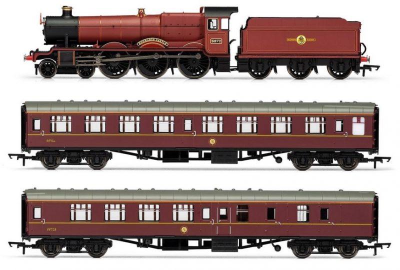 hogwarts train set
